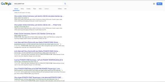google situs poker1one