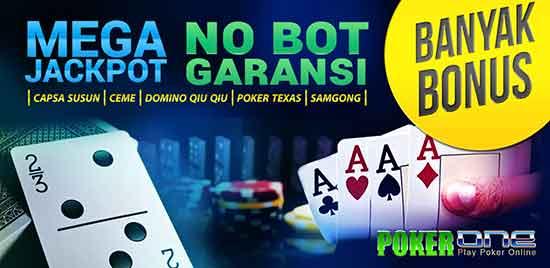 keuntungan bermain di situs poker1one