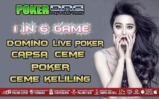 permainan di situs poker1one