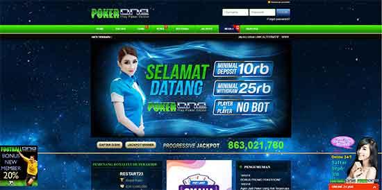 situs judi poker dan domino online resmi terpercaya POKER1ONE