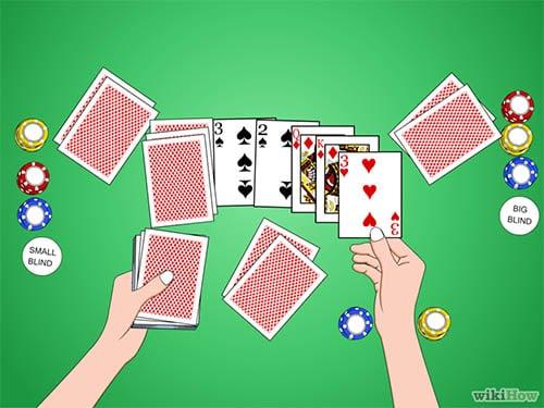 Aturan dasar pembagian kartu dan blind