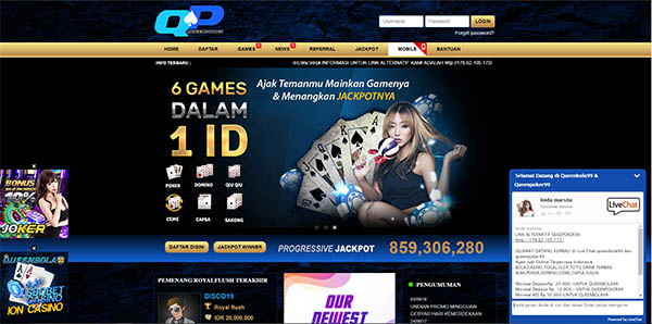 agen poker qq online indonesia queenpoker99