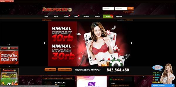 situs poker online kingpoker99