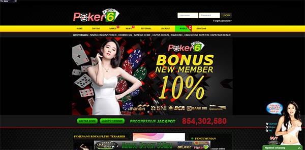 situs poker online terpercaya poker-6